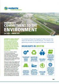 Vedanta's commitment to the environment